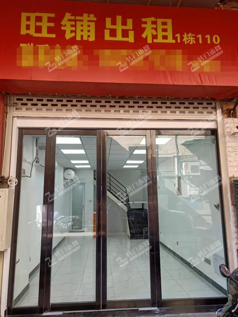 无转让费,直租毛家桥大市场58平米新装修旺铺(带阁楼)
