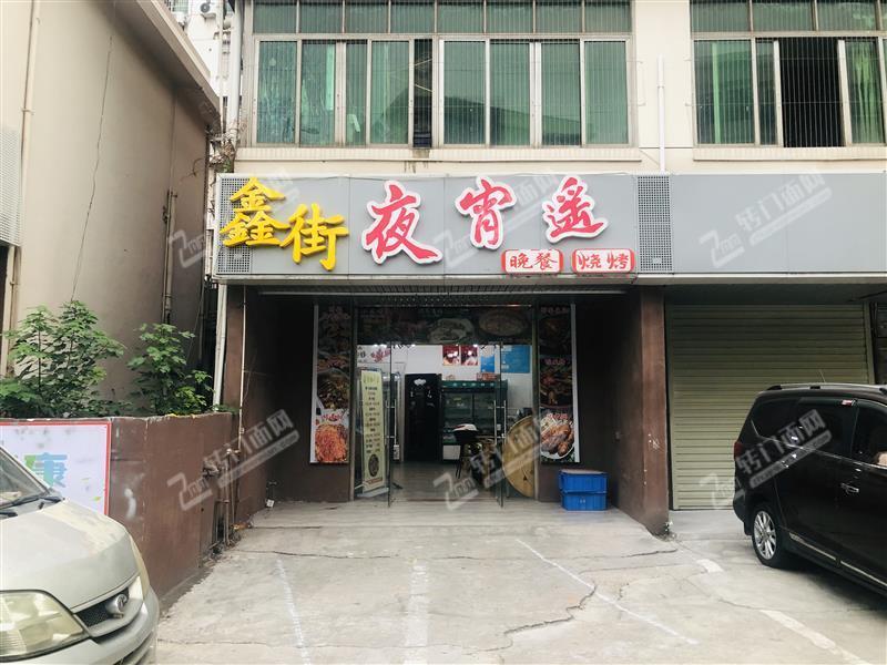宋城路(原理工大学西门)烧烤餐饮旺铺转让,商户两用