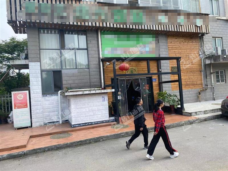 房东直租、四方坪成熟小区出入口400㎡临街拐角旺铺